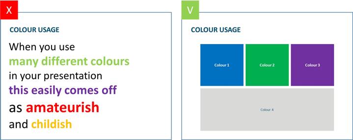 10- Temel renklendirmeleri tercih edin